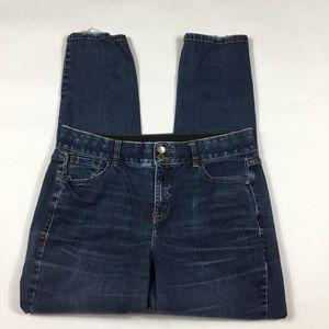 Lane Bryant Straight Leg Jeans Womens Size 14